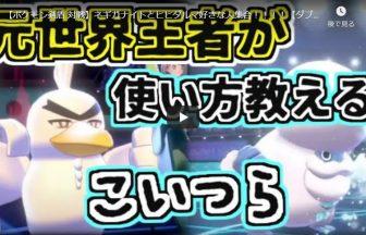 【ポケモン剣盾 対戦】ネギガナイトとヒヒダルマ好きな人集合!!!!【ダブルバトル ソードシールド】