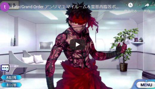 【FGO】アンリマユ【セリフ・ボイス集】Fate/Grand Order マイルーム&霊基再臨等【Fate/hollow ataraxia】
