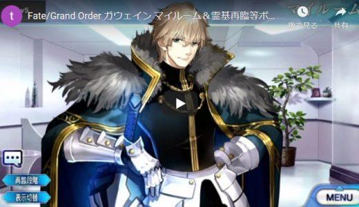 【FGO】ガウェイン【セリフ・ボイス集】Fate/Grand Order マイルーム&霊基再臨等【Fate/EXTRA】